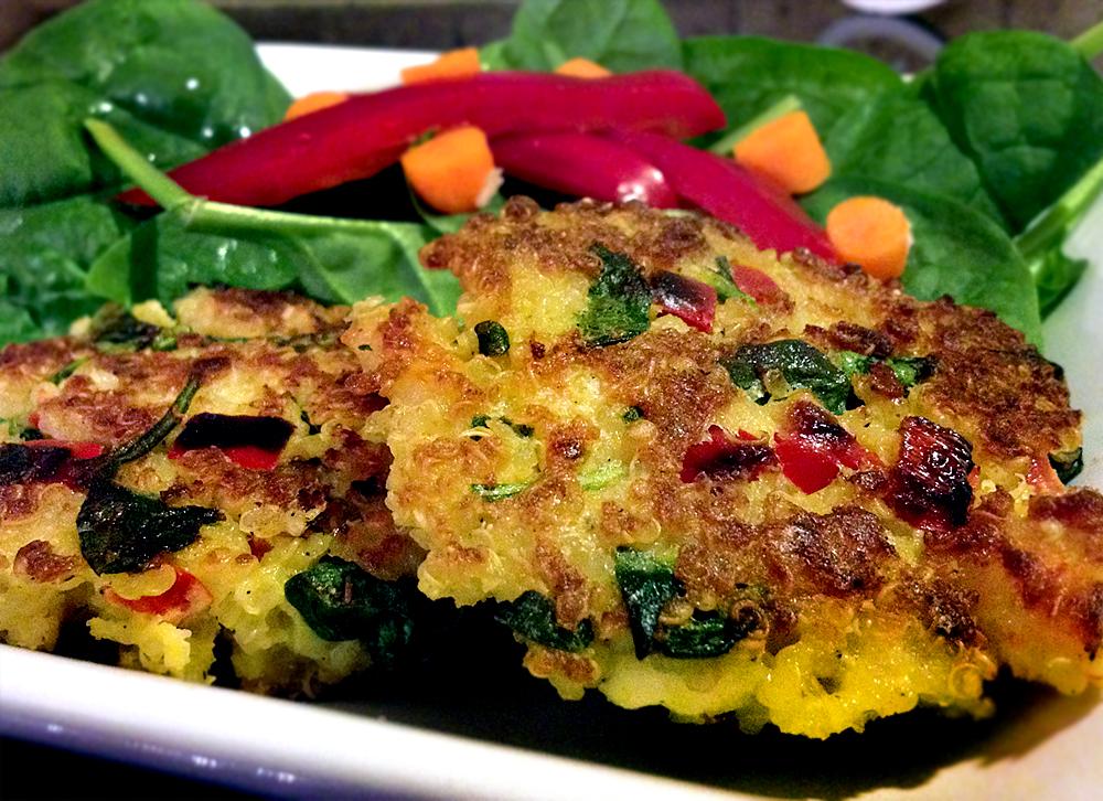 Quinoa Patties | Kim's Healthy Eats
